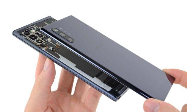 Samsung Galaxy Note10 : Sous les tournevis d'Ifixit