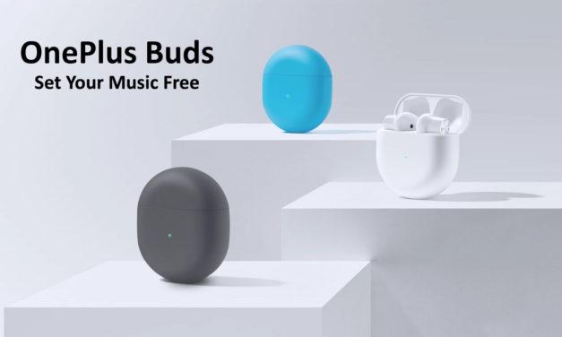 OnePlus nous présente les OnePlus Buds