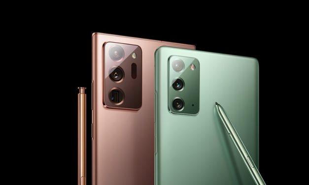 Les Galaxy Note20 et Note20 Ultra sont là