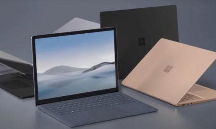 Microsoft dévoile sa nouvelle Surface Laptop 4